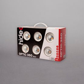 Hidealite Optic 360 6-pack Vit