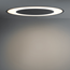 Modular Flat moon eclips 670 recessed LED